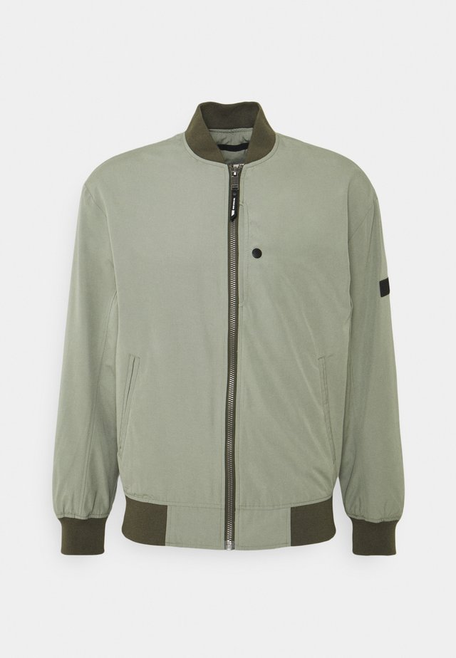 CLEAN  - Bomber Jacket - greyish shadow olive