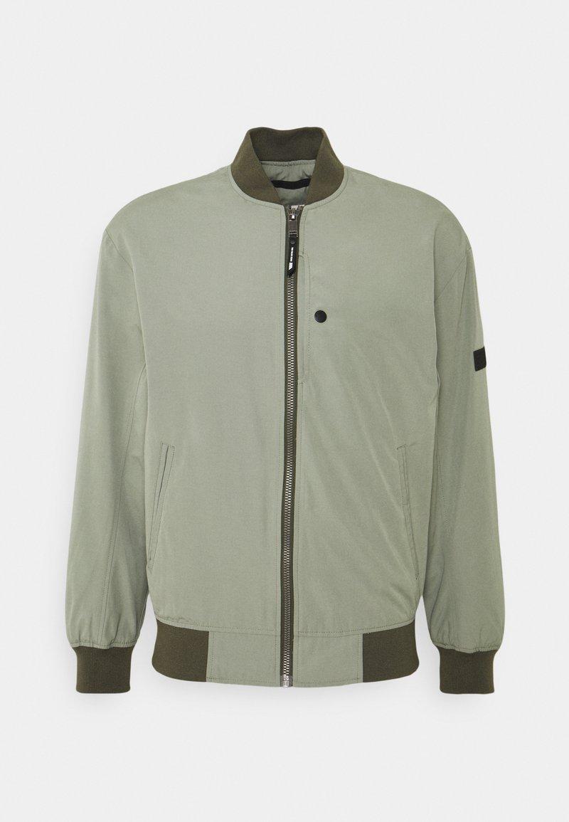 TOM TAILOR DENIM - CLEAN  - Bomber Jacket - greyish shadow olive