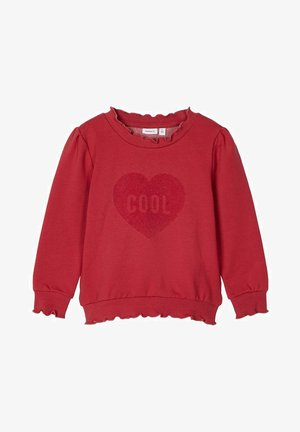 Sweater - earth red