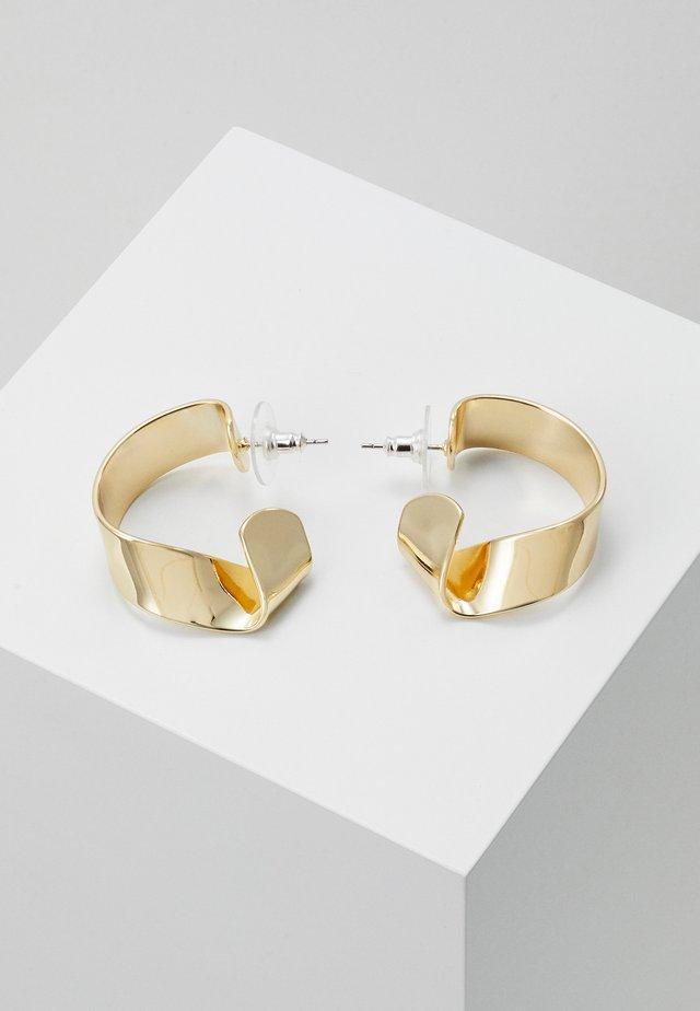 JAIN SMALL OVAL EAR - Earrings - gold-coloured