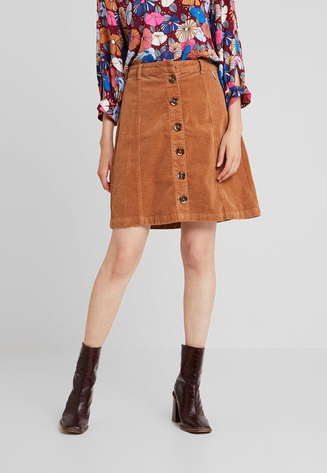 TRIA SKIRT - A-line skirt - soft camel