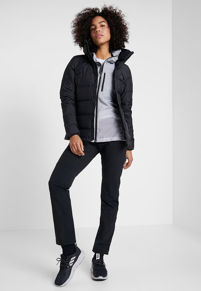 HELIONIC HOODED Giacca invernale black