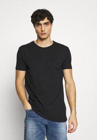 Kronstadt - ELON  3PACK - T-shirt basique - navy/white/black - 3