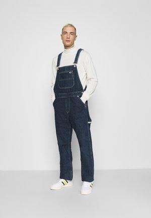 DUNGAREE - Jeans straight leg - save dark blue rigid