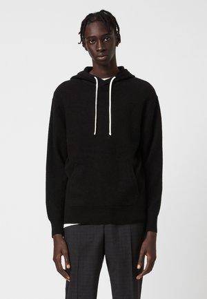 LORI  - Jersey con capucha - black