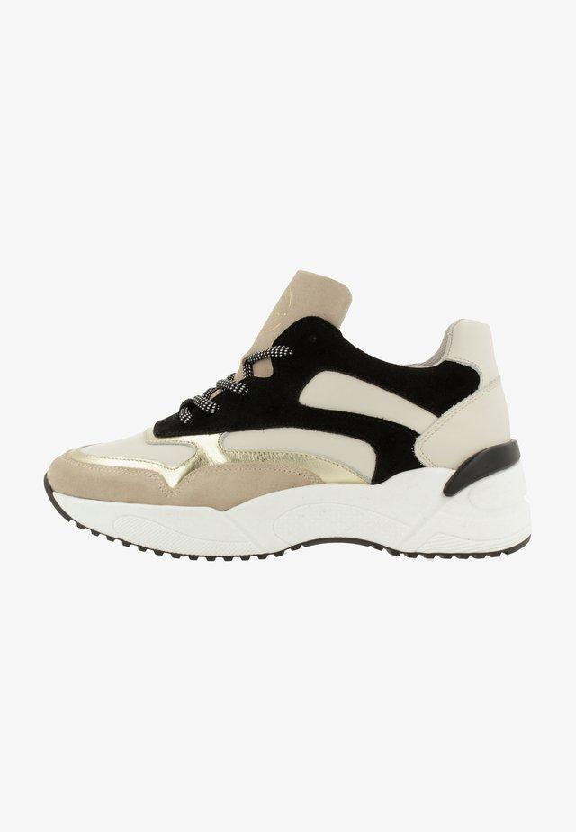 Sneakers laag - multi/black