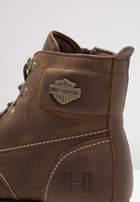 Harley Davidson - HAGERMAN - Lace-up ankle boots - brown - 5