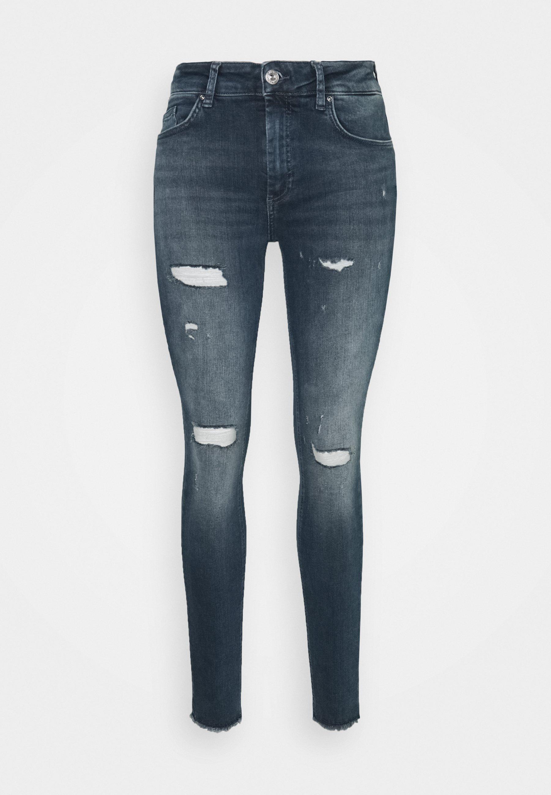 Damen ONLBLUSH LIFE MID - Jeans Skinny Fit