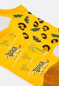 Wild Feet - LEOPARD TRAINER SOCKS 3 PACK - Sokken - multi-coloured - 1