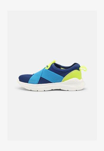 FLASH - Trainers - blau/gelb