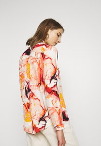 ONLY - ONLALMA LIFE - Button-down blouse - cloud dancer/marble - 2