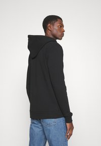 Les Deux - FRENCH ZIPPER HOODIE - Zip-up sweatshirt - black - 2