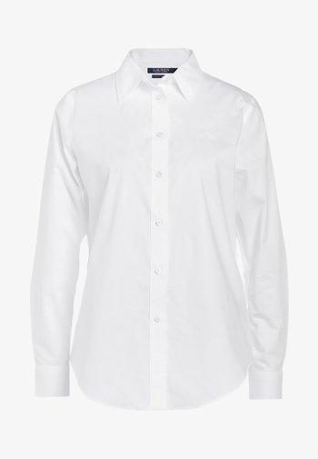 NON IRON - Button-down blouse - white