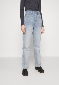 Topshop - PARALLEL - Jeansy Relaxed Fit - bleached denim - 0