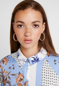 River Island - Button-down blouse - blue - 4