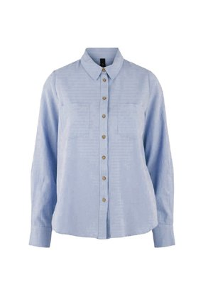 YASZIKKI - Button-down blouse - bel air blue