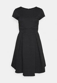 WAL G. - BRIEGE SKATER DRESS - Day dress - black - 4
