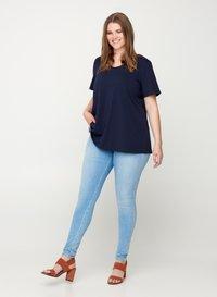 Zizzi - Basic T-shirt - dark blue - 1
