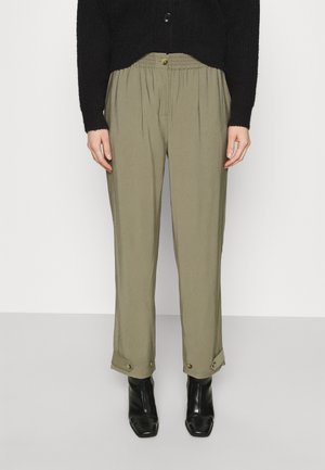 FRANCINE ANKLE PANTS - Chino kalhoty - covert green