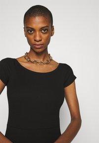 Anna Field - BASIC - Mini dress - Jerseykjole - black - 3
