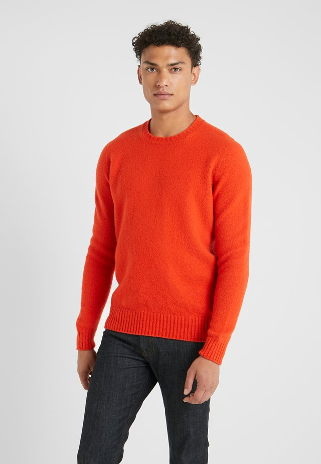 GIROCOLLO GARZATO - Pullover - orange