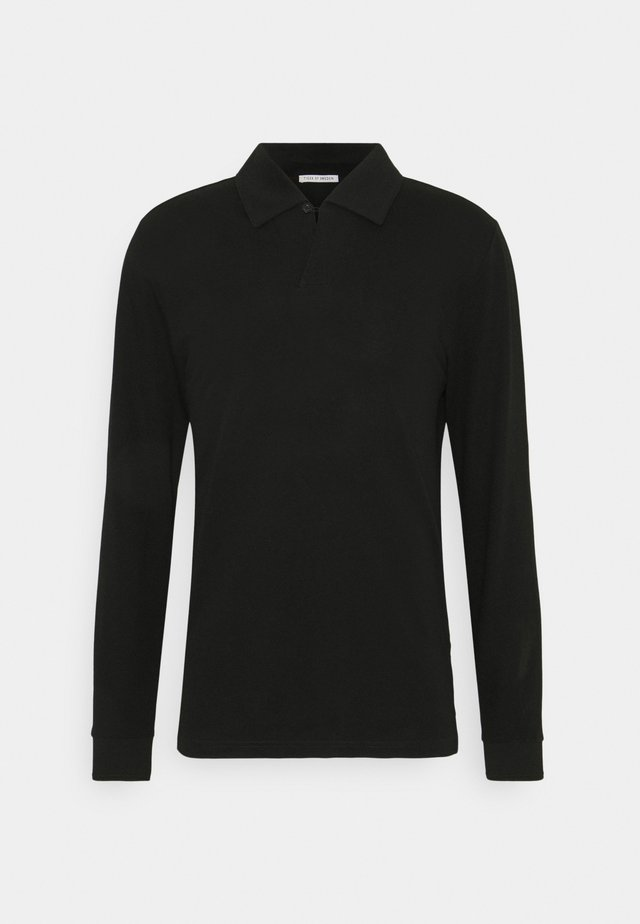 ADERICO - Polo shirt - black