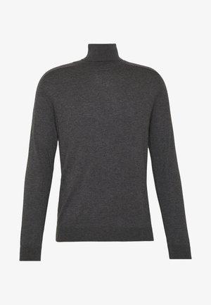 ROLL NECK - Stickad tröja - anthrazit