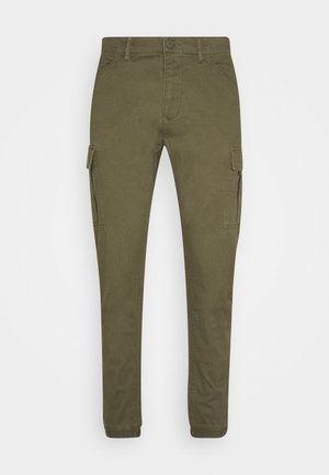Cargo trousers - dark khaki