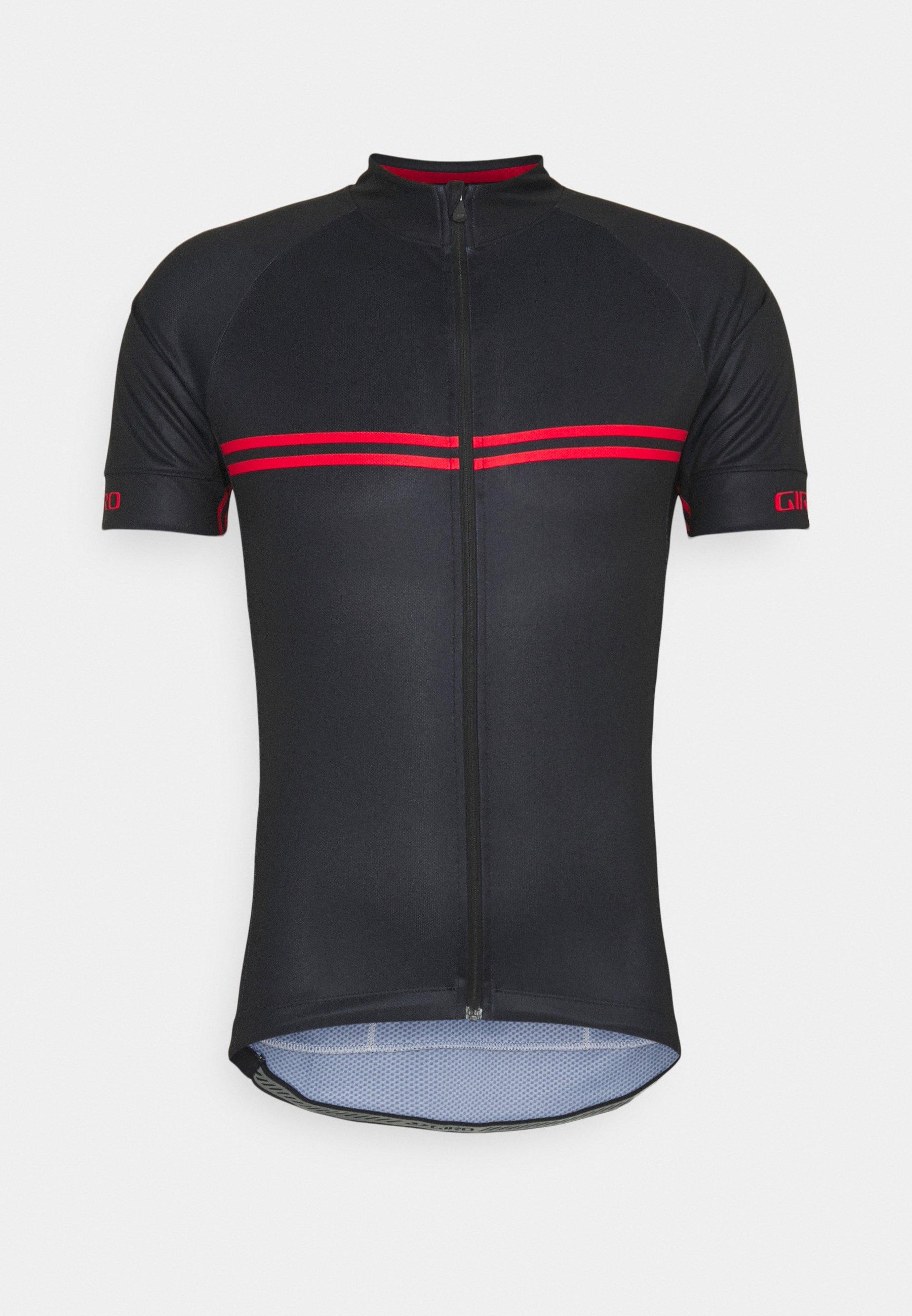 Uomo CHRONO SPORT - Maglia da ciclista - black/red classic
