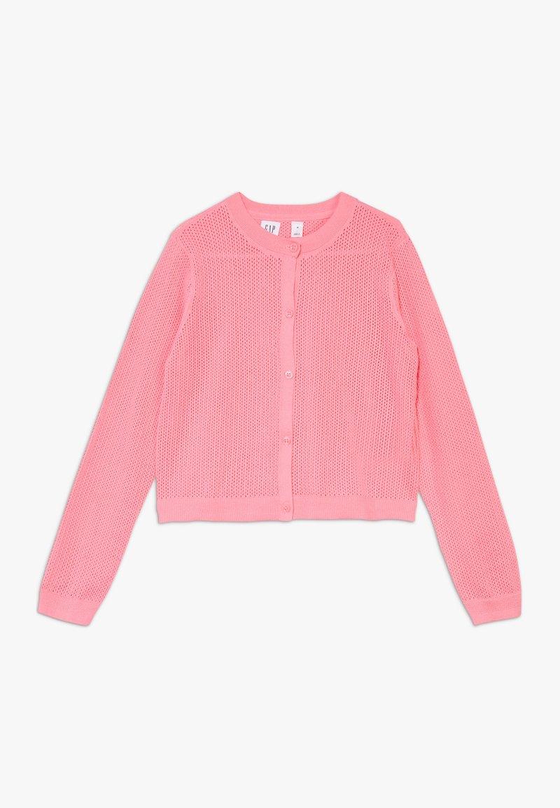 GAP - GIRL EASTER  - Kardigan - neon impulsive pink