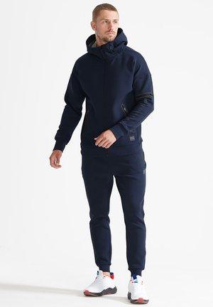 Zip-up sweatshirt - navy marl dark grey