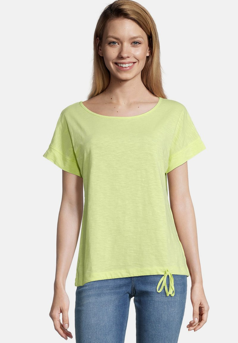 Cartoon - MASSTAB - Print T-shirt - sunny lime