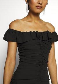 Who What Wear - PARTY DRESS - Etuikjole - black - 5