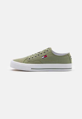 LONG LACE UP - Sneakers laag - clean green