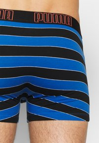 Puma - BOLD STRIPE BOXER 2 PACK - Pants - blue / orange - 5
