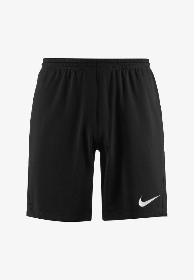 DRY PARK III - Sports shorts - black / white