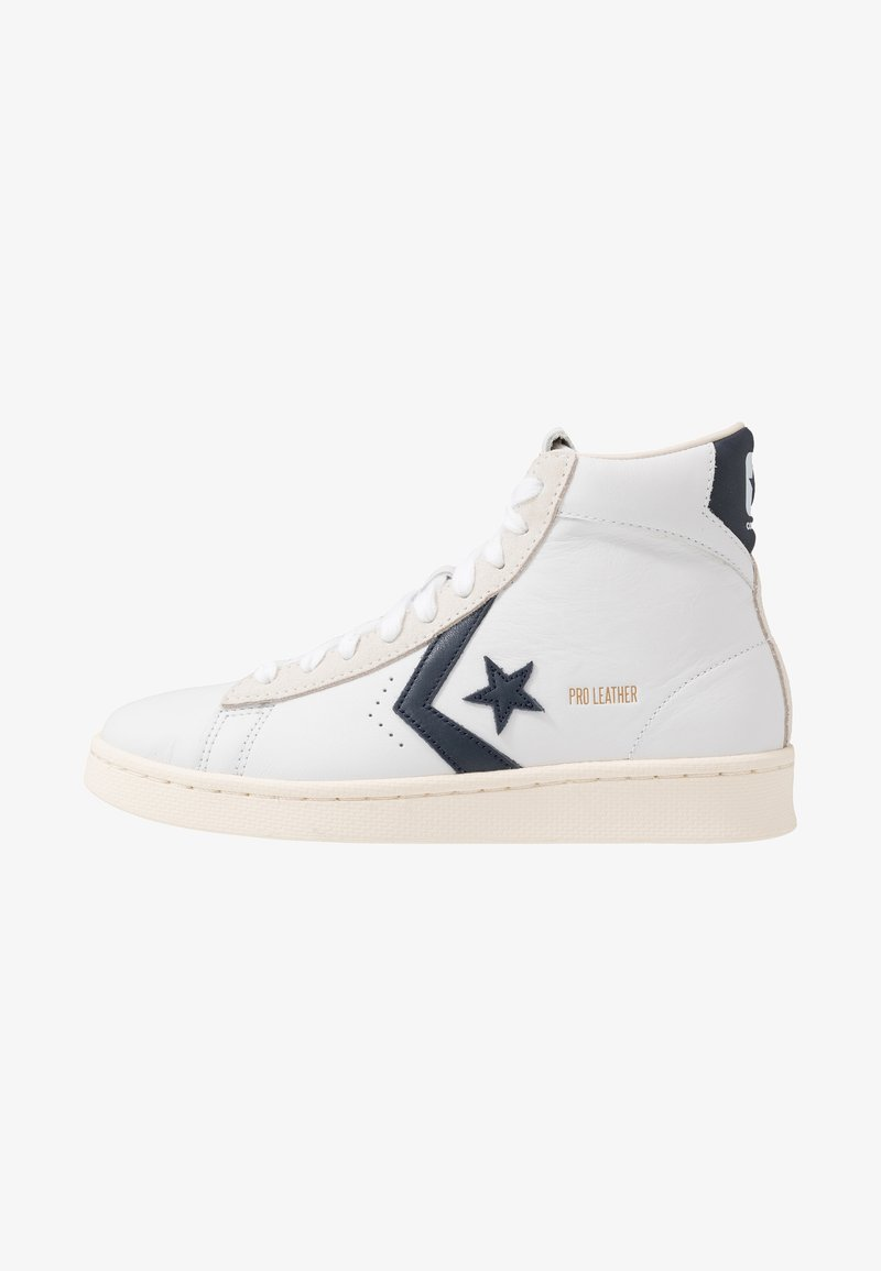 Converse - PRO LEATHER - High-top trainers - white/obsidian/egret