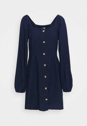 DRESS MONIKH - Denim dress - denim blue