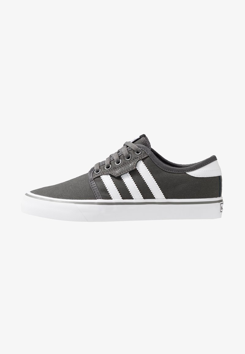 adidas Originals - SEELEY - Zapatillas skate - ash/footwear white/core black