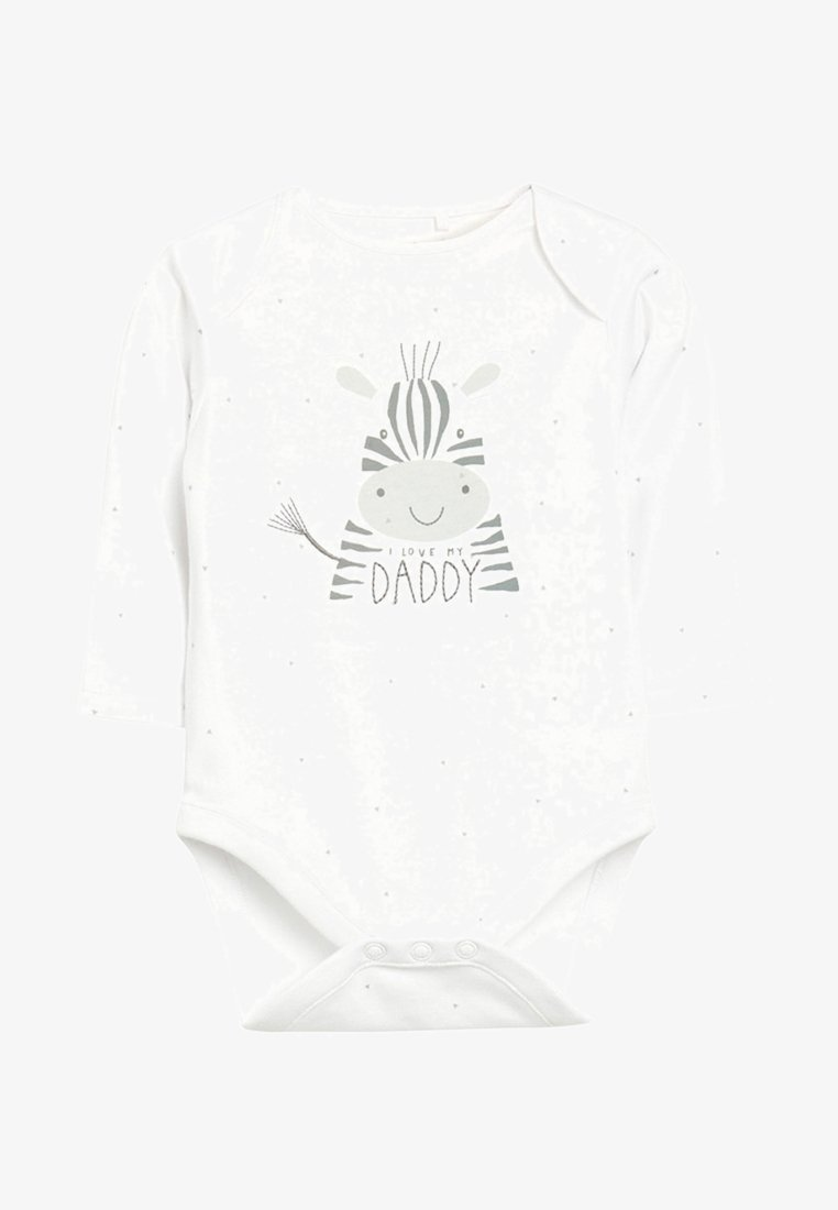 Next - I LOVE MY DADDY ZEBRA  - Body - white
