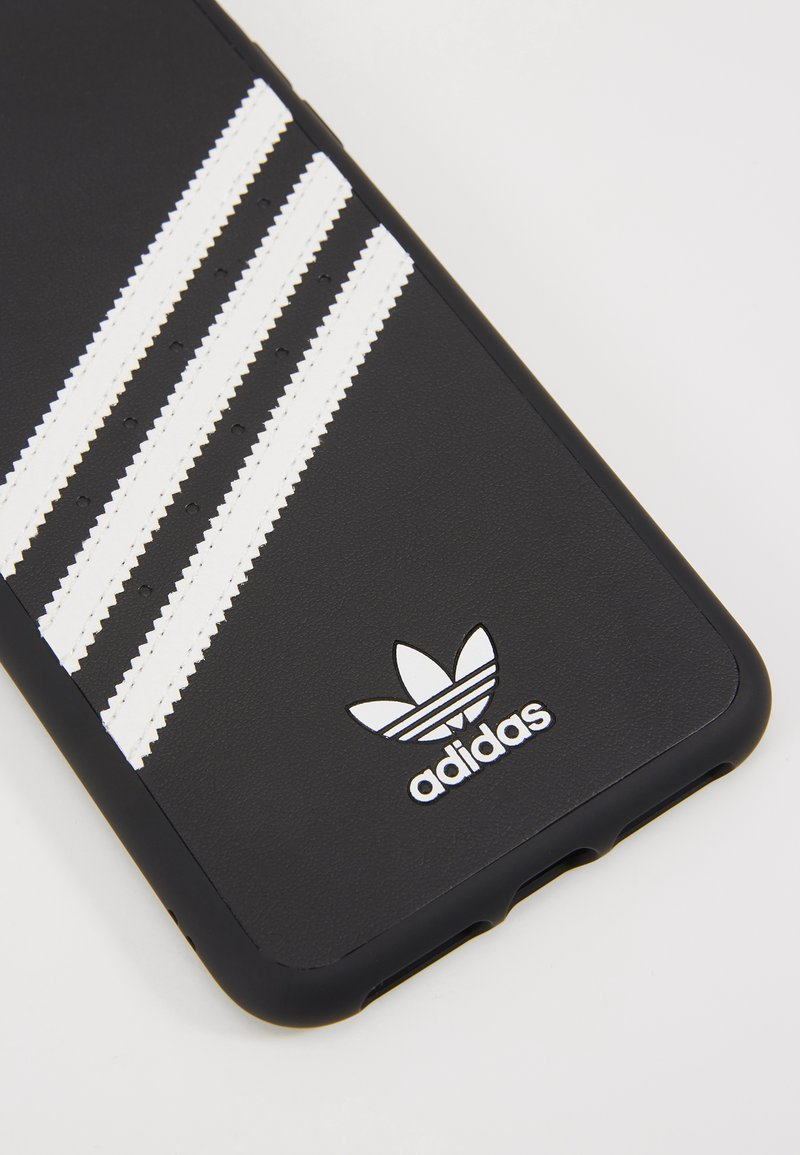 adidas Originals ADIDAS OR MOULDED CASE IPHONE XS MAX - Mobilväska - black / white