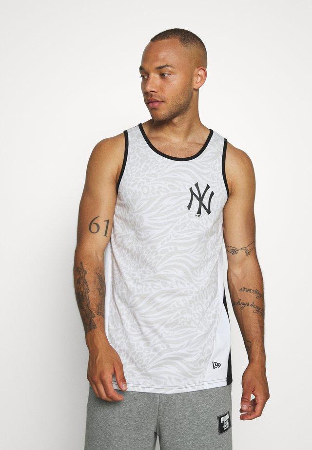 MLB TANK NEW YORK YANKEES - Club wear - white