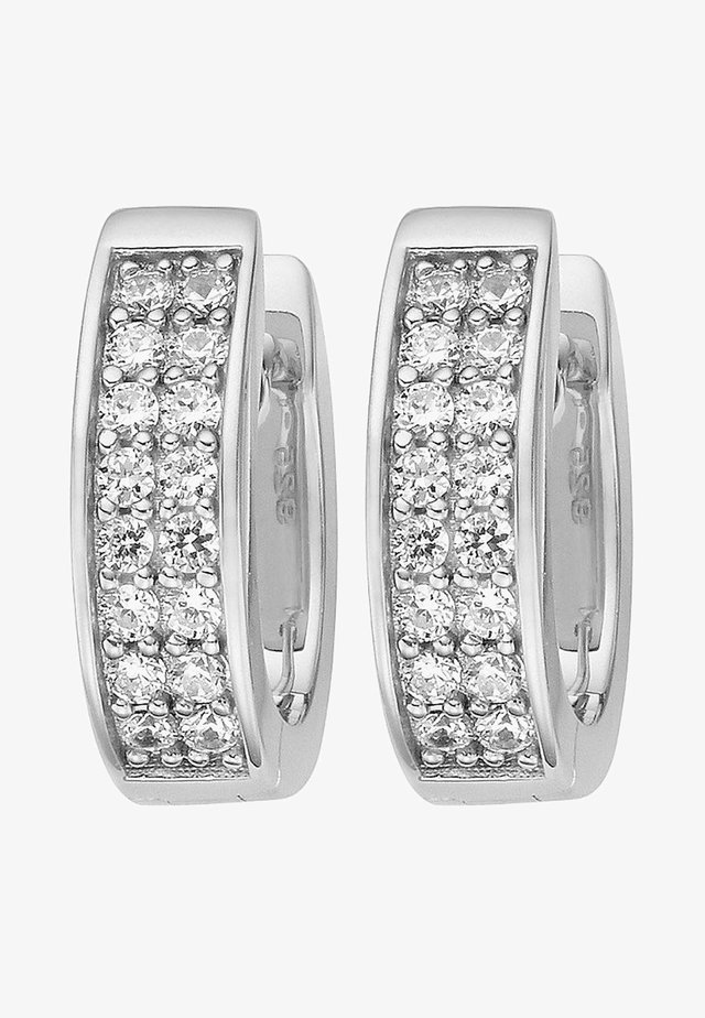 JETTE SILVER CREOLE  - Earrings - silver-coloured