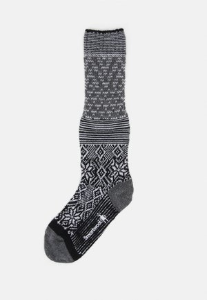 SNOWFLAKE FLURRY - Knee high socks - black