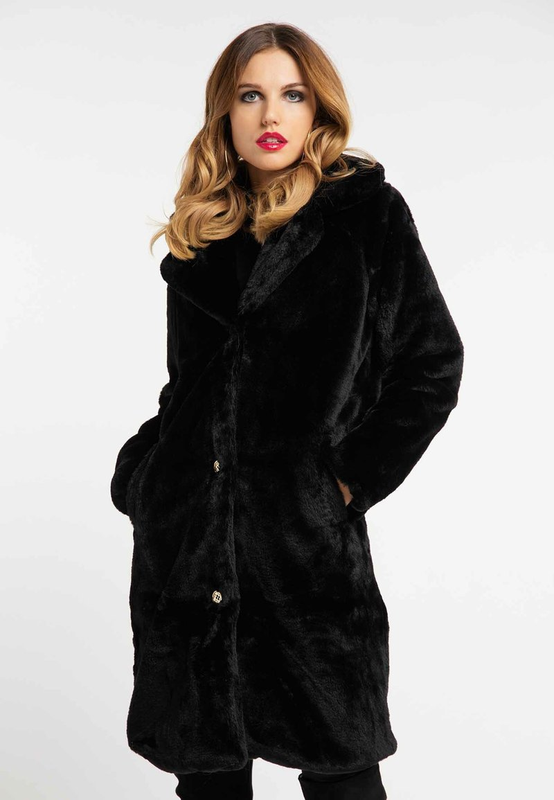 faina - Winter coat - black