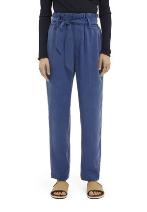 Trousers - ocean blue