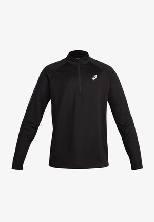 1/2 ZIP - Long sleeved top - performance black/carrier grey