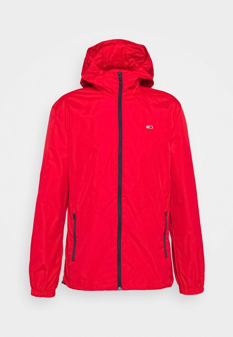 Tommy Jeans - PACKABLE  - Outdoorová bunda - red