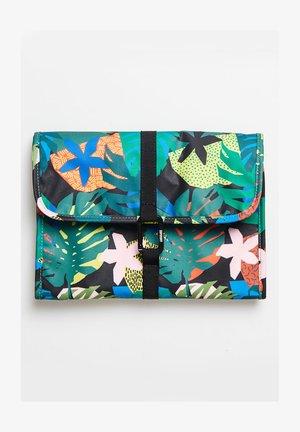 Wash bag - cut out tropical