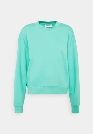HUGE CROPPED - Sweatshirt - turqoise green